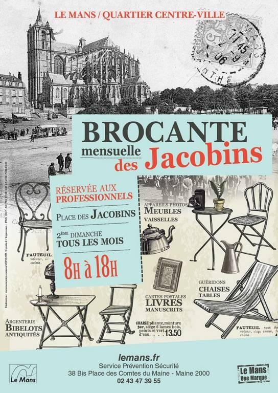 Brocante La Ferte St Aubin brocante mensuelle des jacobins (annule): fêtes et