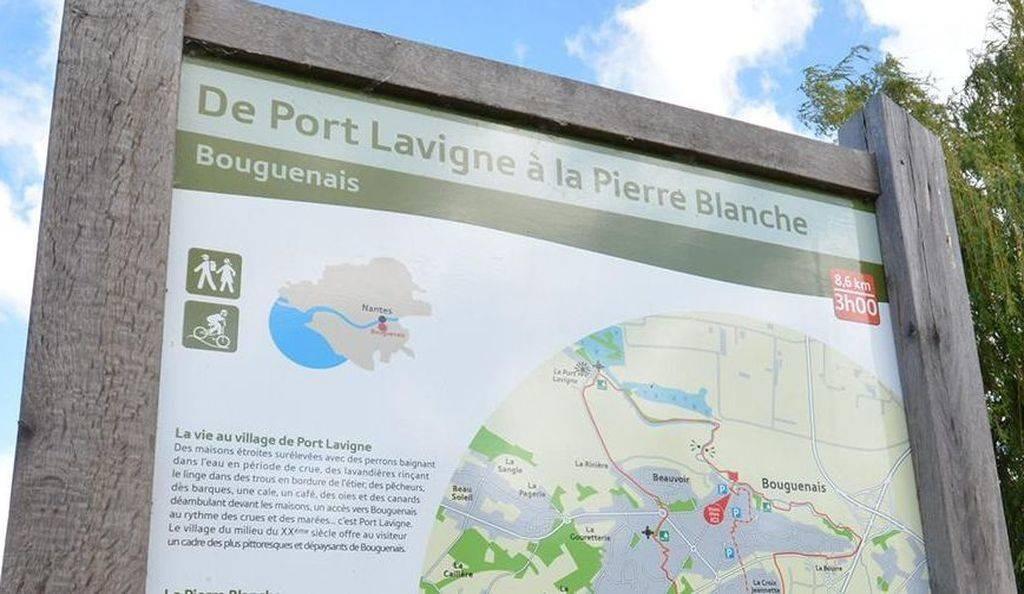 Couleur De Pierre Chalonnes Sur Loire de port lavigne a la pierre blanche: a pied france, pays de