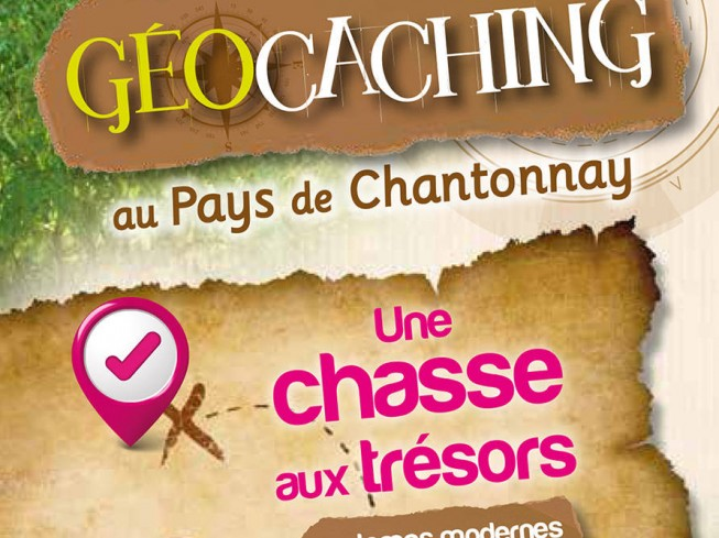 GEOCACHING AU PAYS DE CHANTONNAY