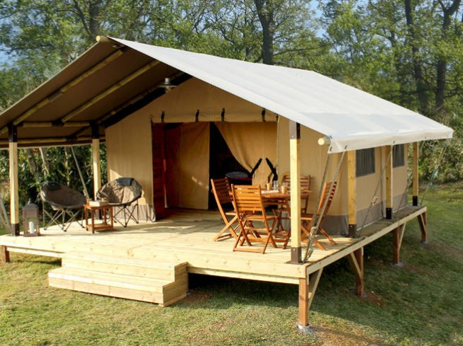 CAMPING LES TOURNESOLS - LODGE KENYA