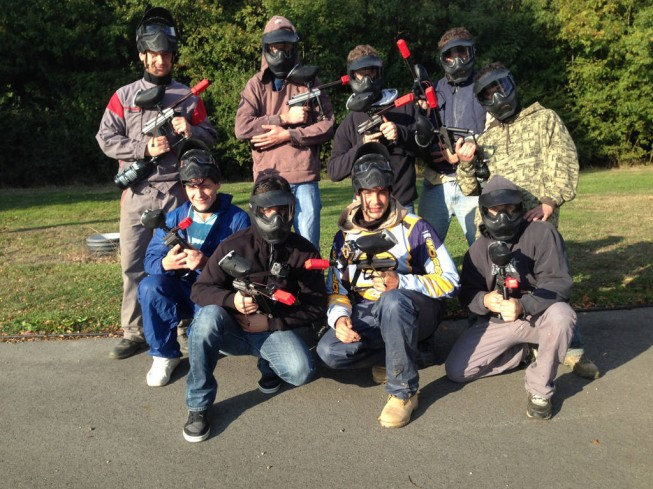 PAINTBALL - BLACK EVENT