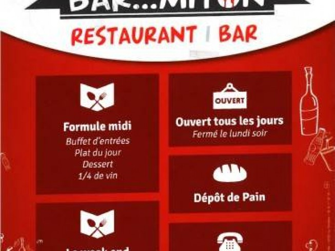RESTAURANT LE BAR... MITON