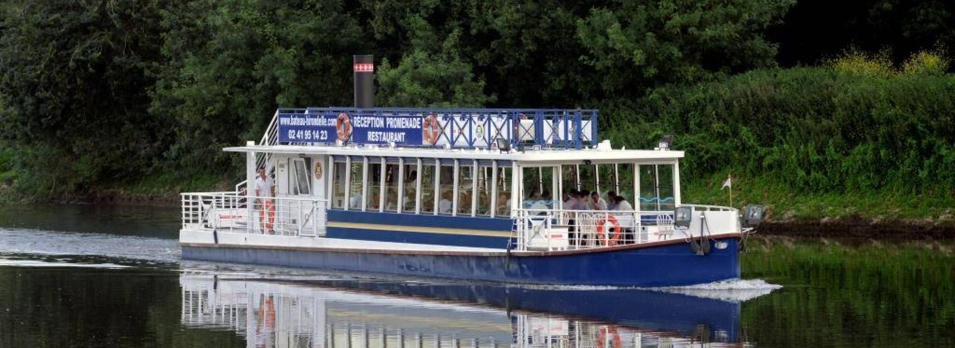 promenade bateau angers