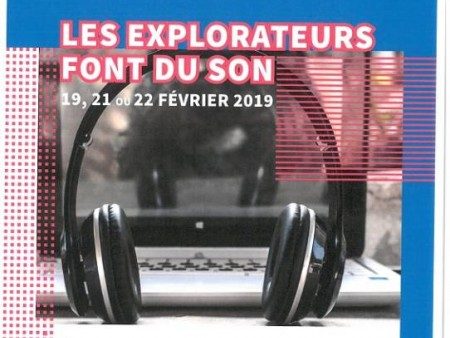 STAGE: LES EXPLORATEURS FONT DU SON