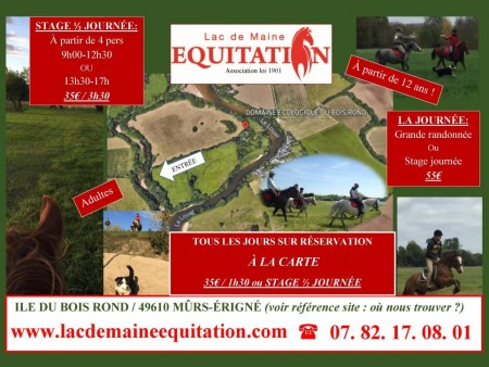 ASSOCIATION LAC DE MAINE EQUITATION