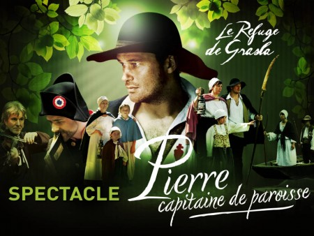 "Spectacle ""Pierre, capitaine de paroisse"""