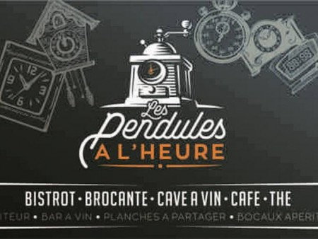 BISTROT BROCANTE LES PENDULES A L'HEURE